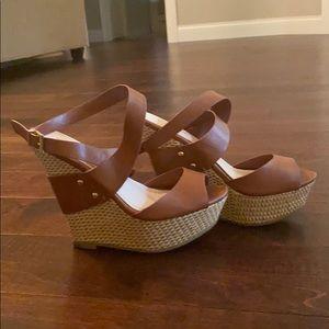 Women's Wedge Ankle Strap Heels
